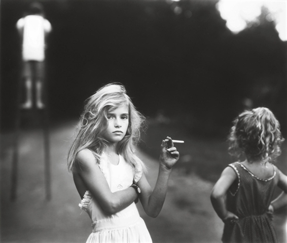 +Sally Mann, Candy Cigarette, 1989..jpg