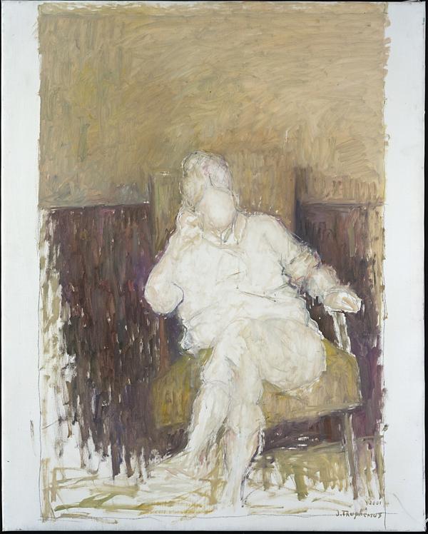 +7Jacques Truphémus   toile à comparer à une Giacometti.jpg