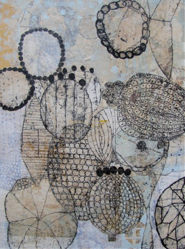 617 Eva Isaksen  Seeds and Beads , 2011 collage.jpg
