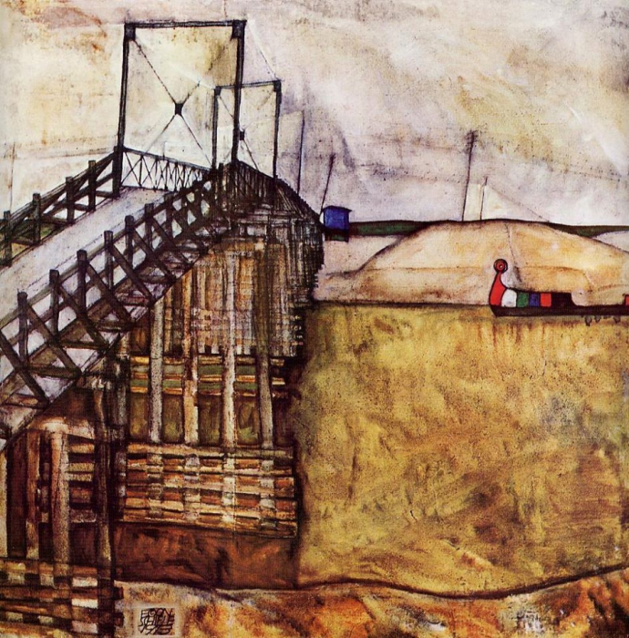 +1706 Egon Schiele, Il ponte (1913).jpg