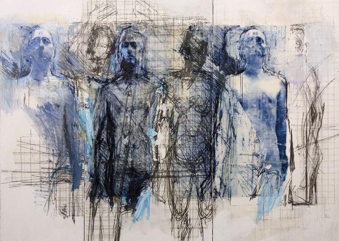 780 Ulrike Bolenz  Blaue Gruppe II  2012.jpg