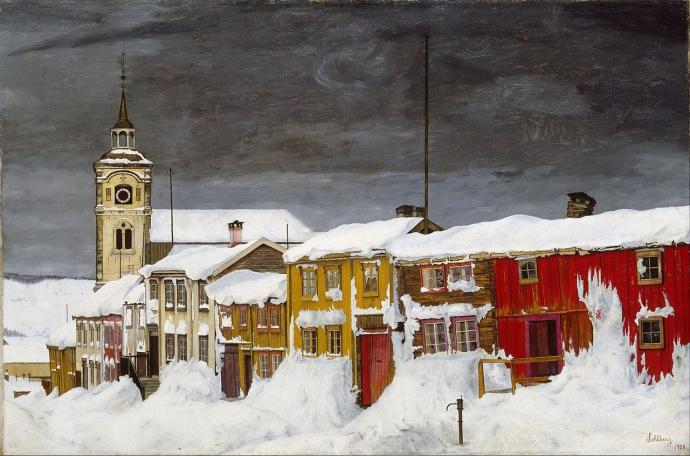 +2Harald Sohlberg -_Street_in_Røros_in_Winter.jpg