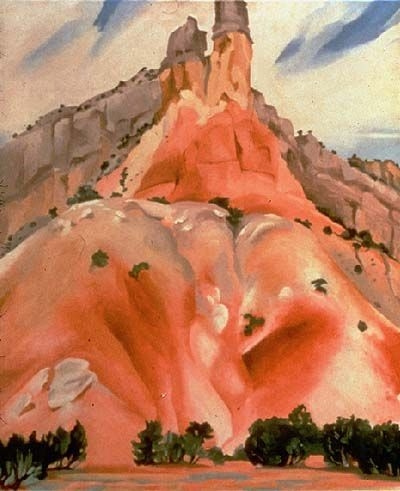 +++Georgia O'Keeffe The Cliff Chimney , 1938.jpg