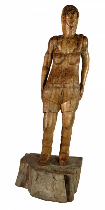 +754 Eugenio Santoro Egyptienne, entre 1986 et 1988 art brut.png