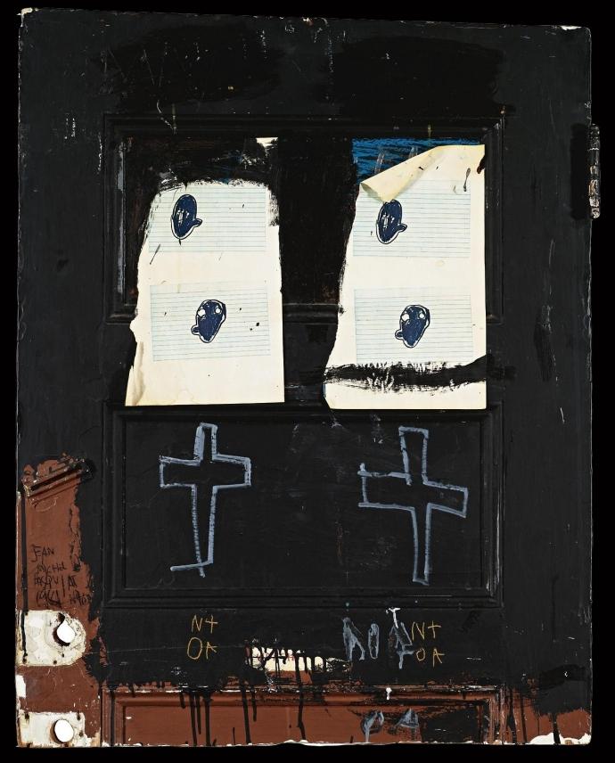 +3Jean-Michel Basquiat  -   Black Door    1981.jpg