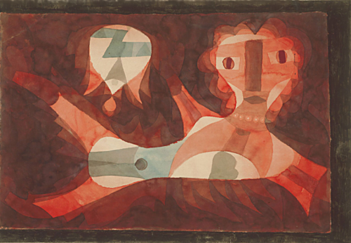 +3Goldfish Wife (Goldfisch-Weib), 1921 - Paul Klee.png