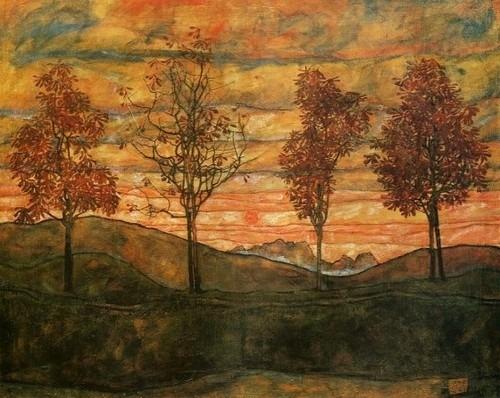 + 2142 Egon Schiele, Four Trees, 1917.jpg