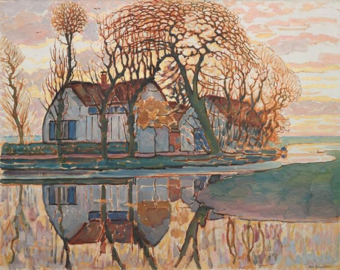 +12Piet Mondrian, Farm near Duivendrecht, c. 1916..jpg