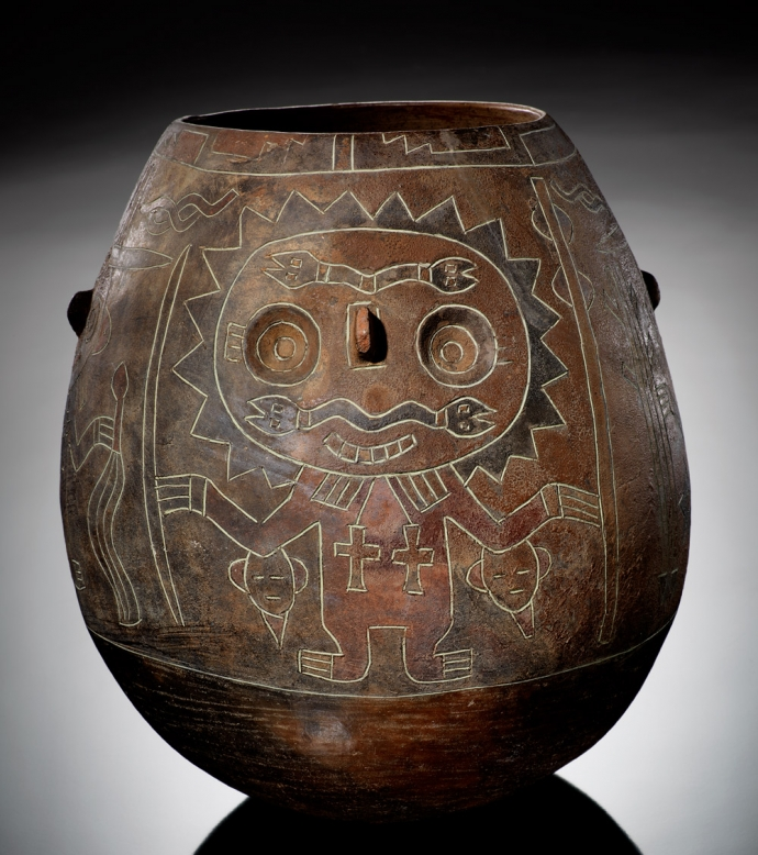 990 Paracas vessel ca. 200 BC–AD 1 Ica Region, Peru.jpg