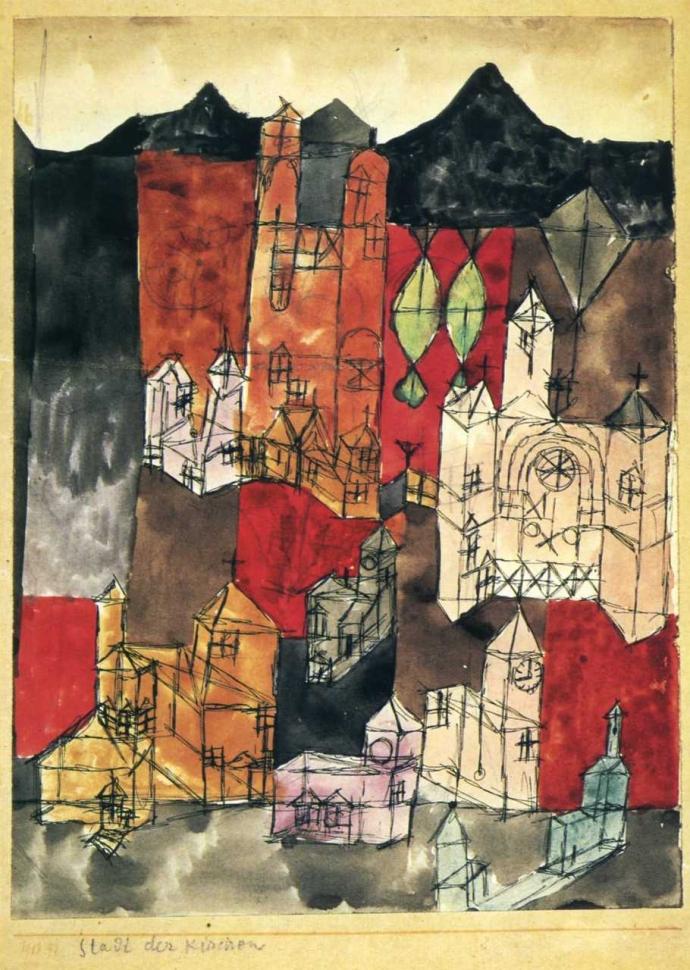 +2367 Paul Klee  Stadt der Kirchen (1918).jpg