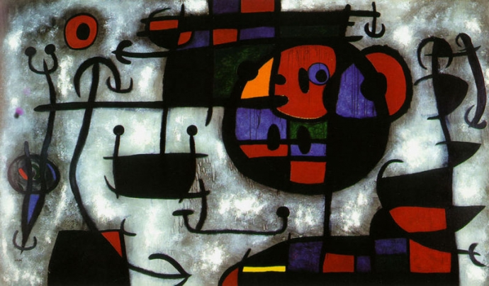 +++1496 Joan Miro-La-Leçon-de-Ski -1966.jpg