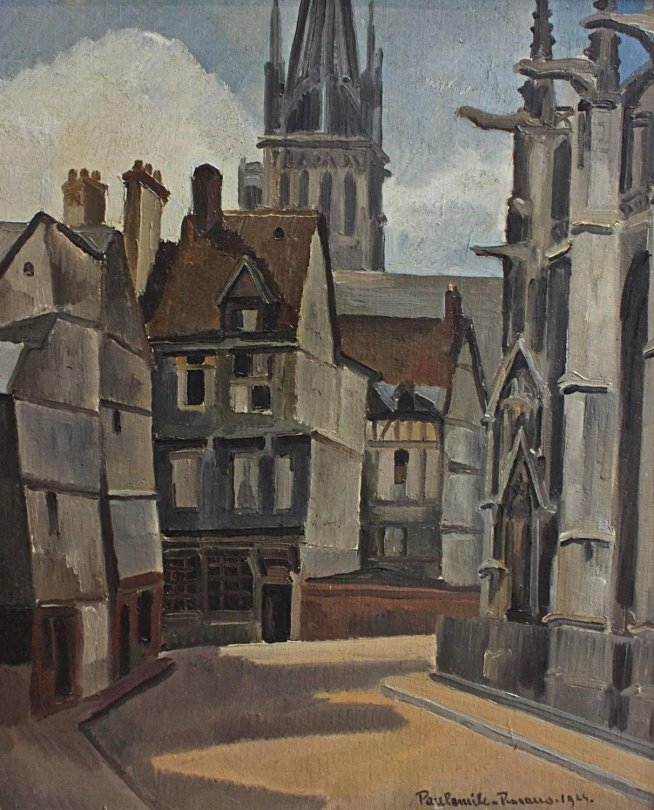 ++ Paul Emile Pissarro The Cathedral at Rouen, 1924.jpg