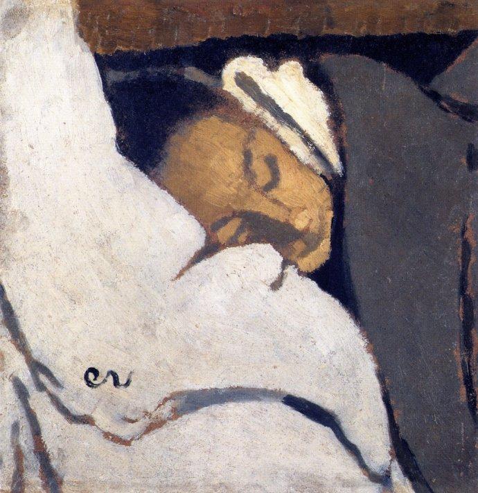 +2376 Edouard Vuillard - 1892  fille endormie.jpg