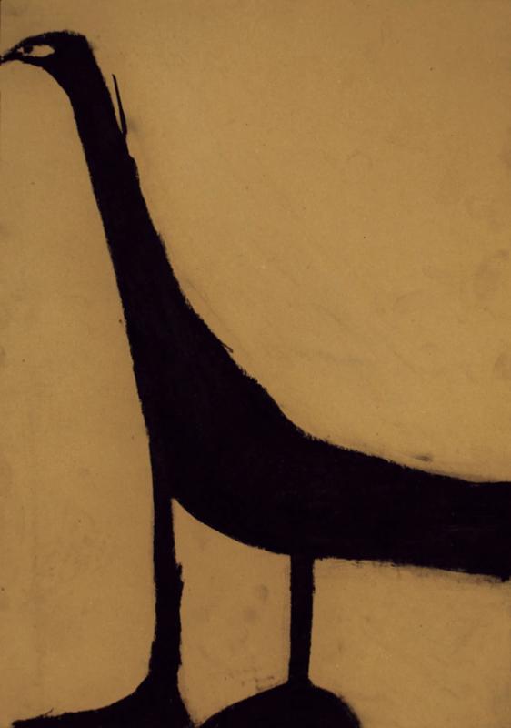 +Shuji Takashi Grue, entre 1980 et 2007  pastel sur carton.png