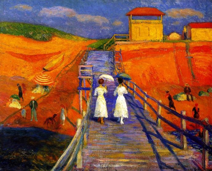 +1720 William Glackens Cape Cod Pier - 1908.jpg