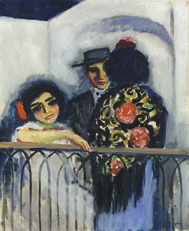 +++ The balcony, c. 1910 - Kees van Dongen.jpg