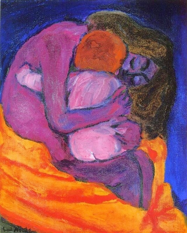 ++Emil Nolde Mother & Child (1913).jpg