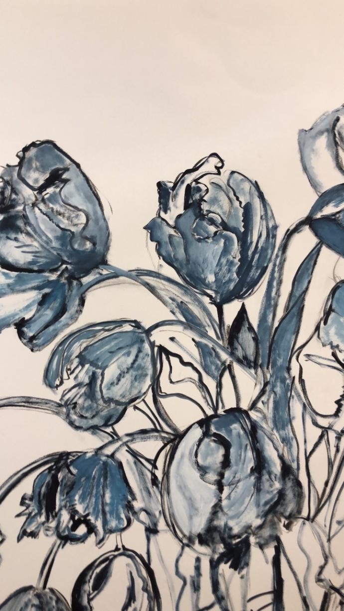 ++++Arnoud van Mosselveld Tulips in blue (2018).jpg