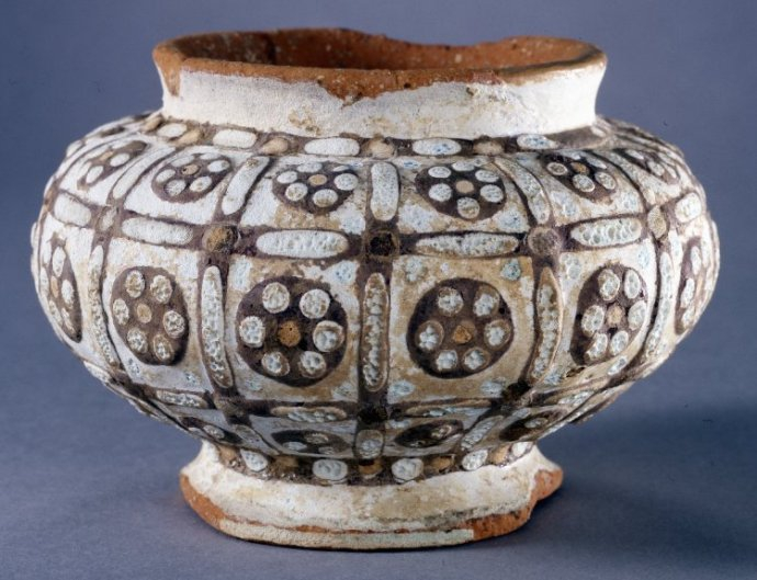 748b Zhou Dynasty Earthenware Bow l4th-3rd Century BC China.jpg