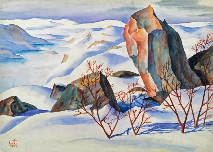 +2741 Ernst Nepo, Norwegian Langfjord, 1943.jpg