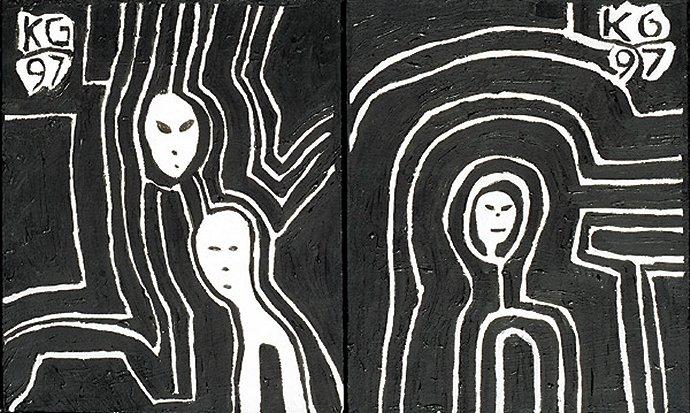 +854 Ken Grimes space aliens II 1997.jpg