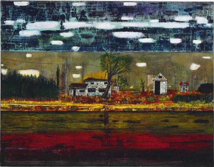 +1542 Peter Doig , Road House, 1991.jpg
