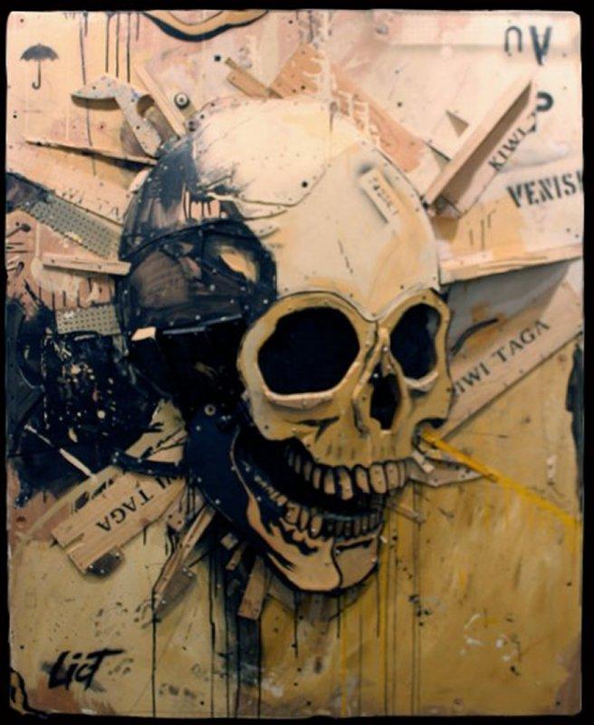 772 Eric Liot Tête de mort  2012 2.jpg