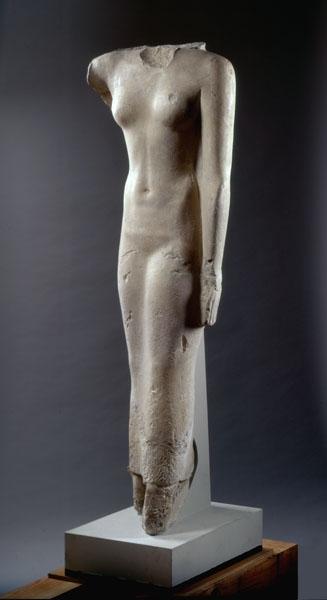 824 Art égyptien statue de Hetepheres, Gizeh Old Kingdom, 5th dynasty, 2440 BC.jpg