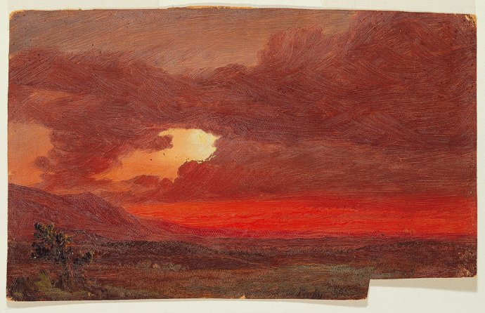 +2475 Frederic Edwin Church, Sunset, Hudson River, New York, 1861.jpg