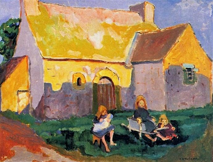 +5Emily Carr  Brittany France  c. 1911.jpg