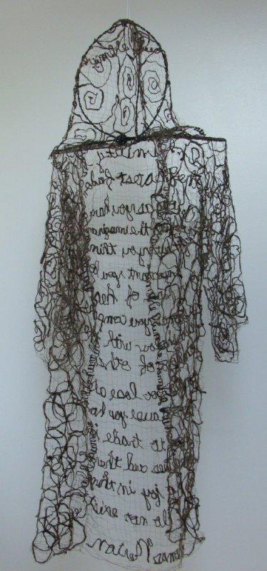 +2454 Brown Monks Robe Humble Fiber Art Icelandic Sheep's Wool with Thomas Merton Quote by InJoyEmporium on Etsy.jpg