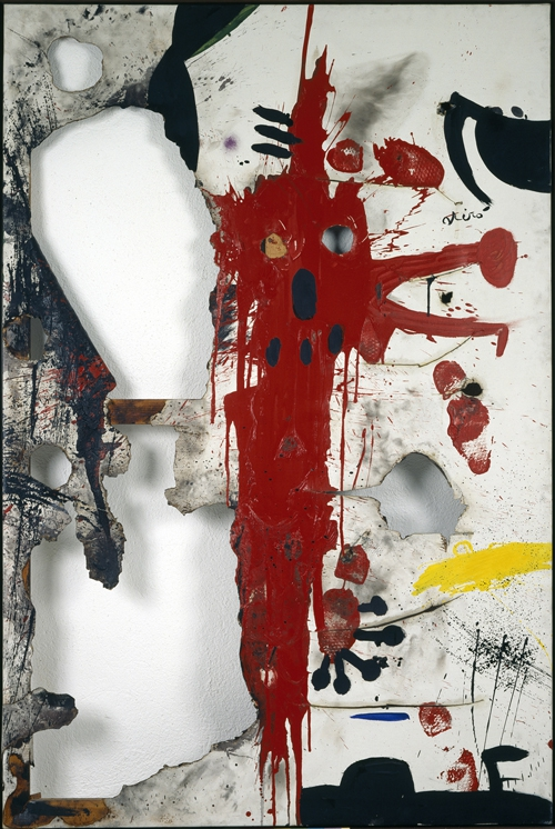 ++Joan Miró, Burned Canvas V, 1973.jpg