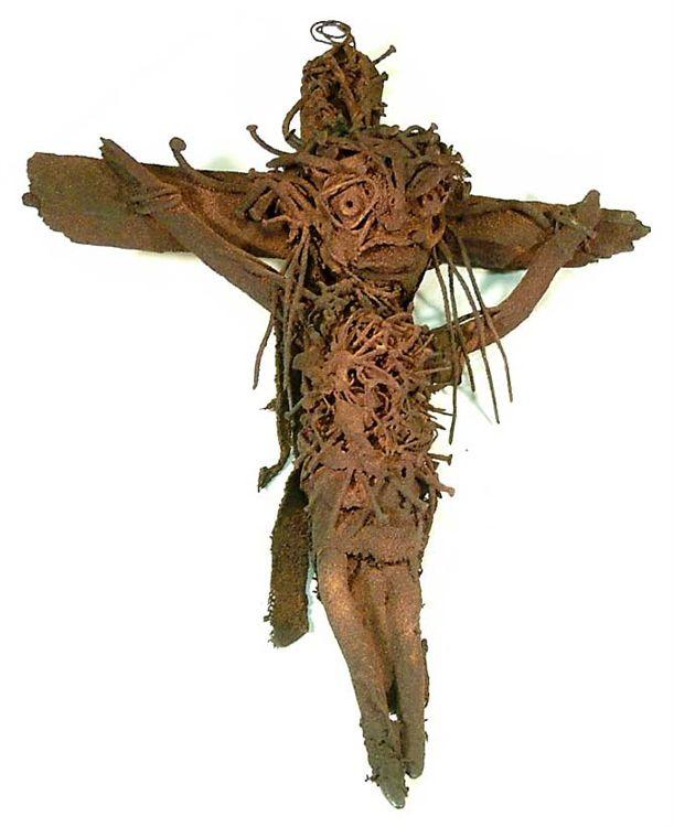 945 Sylvain et Ghyslaine Staelens Crucifix.jpg