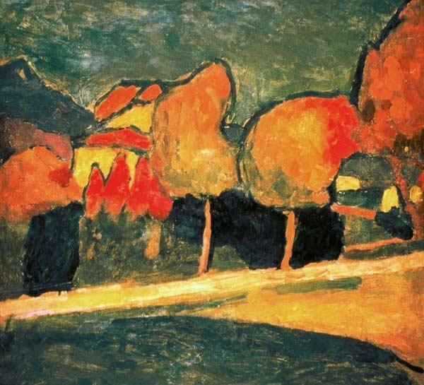 +2692 Alexej von Jawlensky  Murnauer Landschaft, 1907..jpg