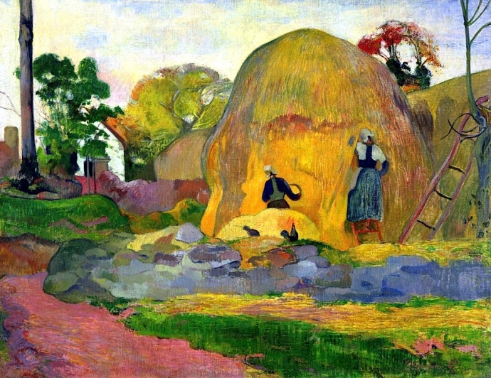+24Golden Harvest - Paul Gauguin - 1898.jpg