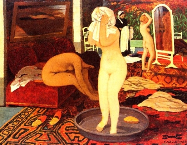 ++1420 Félix Vallotton-1865-1925--Felix--Switzerland-femmes.jpg