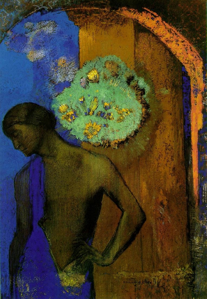 +1299 Odilon Redon  Saint Jean 1892.jpg