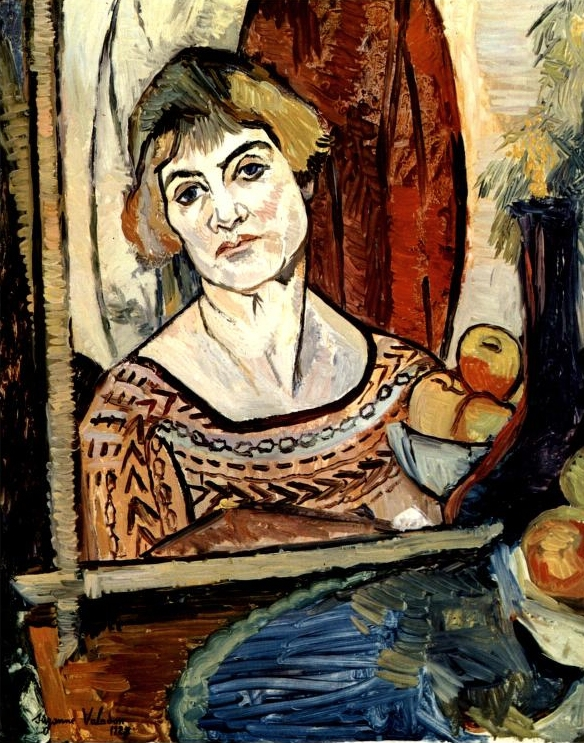 +++ Self-Portrait, 1927 - Suzanne Valadon.jpg