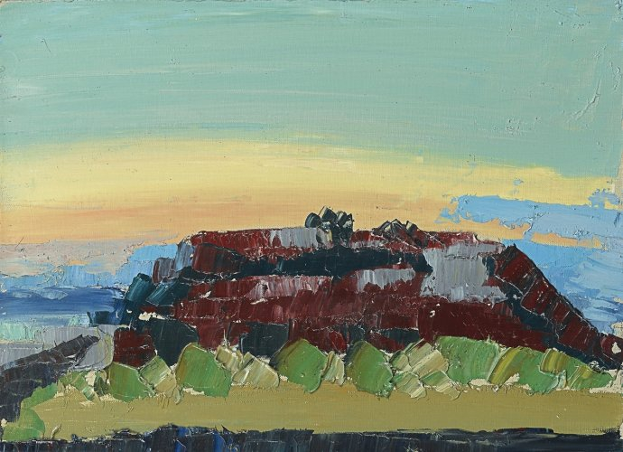 ++1509 Nicolas de Staël Paysage de Provence (Grignan), 1953.jpg