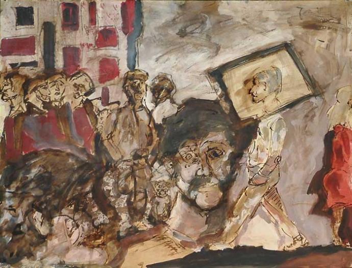 962 Julien Allègre  la rue  c.2005.jpg