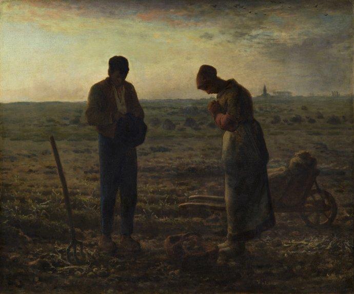 +893 Jean- François Millet l'Angélus  1857-1859.jpg