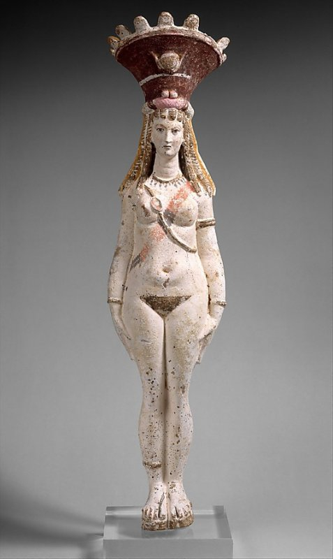 885 Art égyptien période romaine Isis-Aphrodite 2nd Century AD.jpg