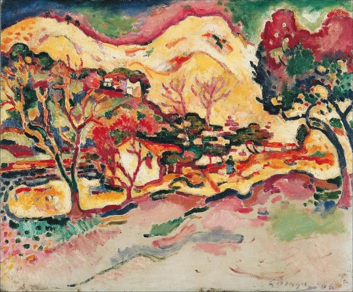 +22Georges Braque Paysage à La Ciotat (1907).jpg