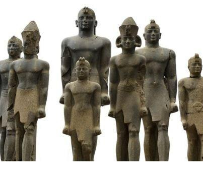 +899 Statues of Nubian kings up to ten feet high were found buried at the Nubian capital of Kerma, in Sudan..jpg