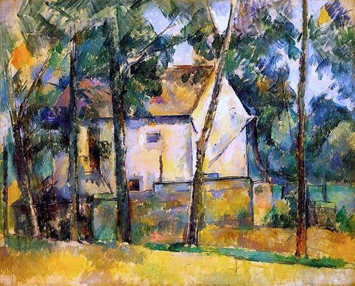 +1741 Paul Cezanne - House and Trees , 1890-1894.jpg