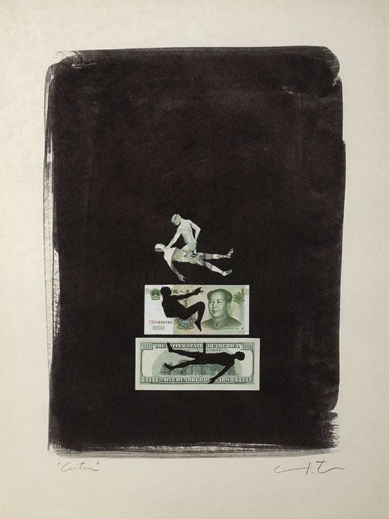 758 Yoan Capote  Coitus (dollar & yuan), 2010.jpg