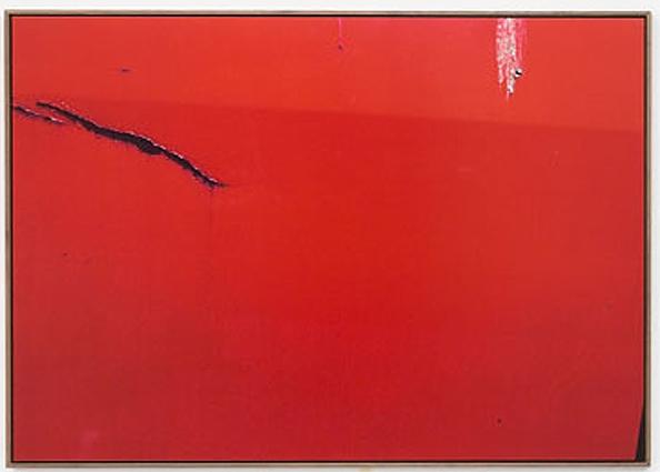++1089 Jan Dibbets tableau rouge New Colorstudies 1976-2012.jpg