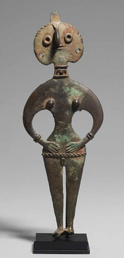 815 A Syrian bronze goddess, middle Bronze Age iia, c. 1950-1750 BC..jpg