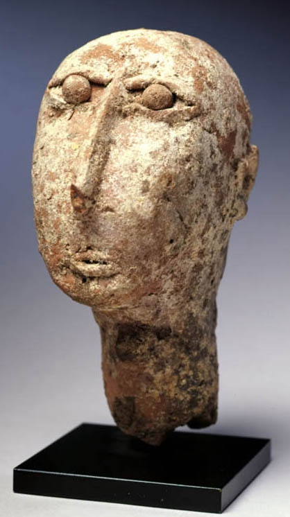 812 Ethiopia, Axum - 4th to 7th century Head, Falasha Artist.jpg