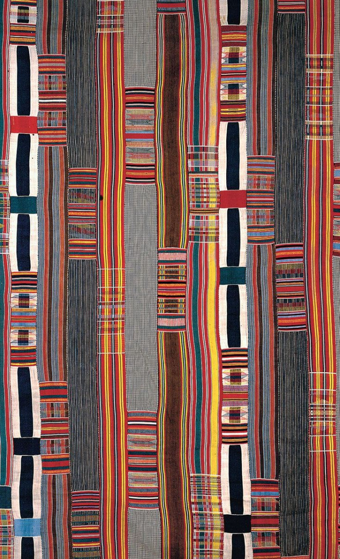 ++Woven cloth from the Ewe people of Togo.jpg